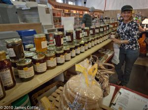 Lancaster, PA  Central Market - Amish Jams & Jellies